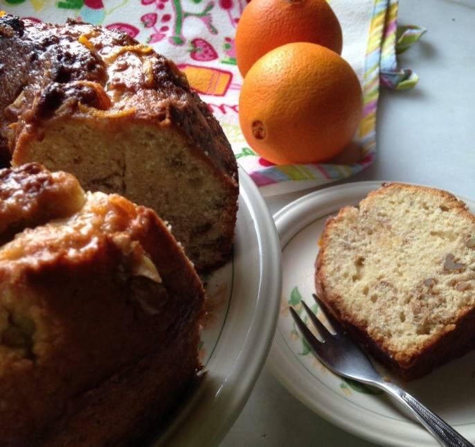 Portakallı Cevizli Kek / İlk Tadışta Aşk